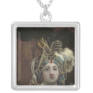 A Sultana, 1748 Silver Plated Necklace