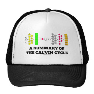 A Summary Of The Calvin Cycle (Photosynthesis) Trucker Hat