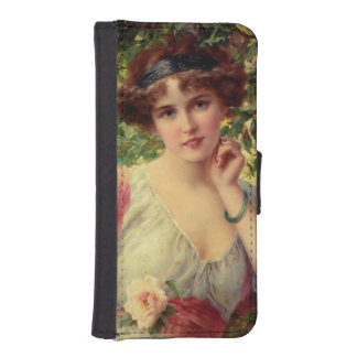 A Summer Rose by Emile Vernon iPhone SE/5/5s Wallet