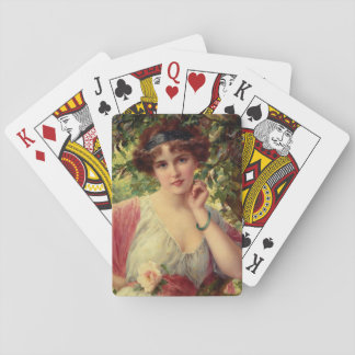 A Summer Rose by Emile Vernon Playing Cards