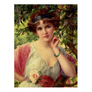 A Summer Rose Postcard