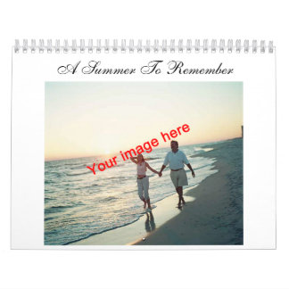 A Summer to Remember Calendar