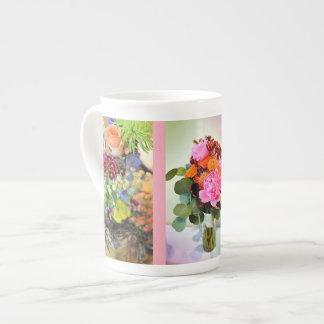 A Summer Wedding Bouquet Tea Cup
