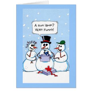 A Sun Lamp Very Funny Card