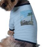 A Sun Set in Paridise Dog Shirt