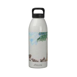 A Sun Set in Paridise Reusable Water Bottles
