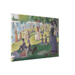 A Sunday Afternoon by Georges Seurat Canvas Print
