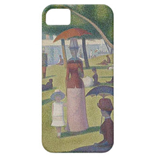 A Sunday Afternoon by Georges Seurat iPhone SE/5/5s Case