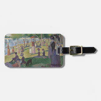 A Sunday Afternoon by Georges Seurat Luggage Tag