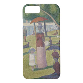 A Sunday Afternoon ~ Georges Seurat iPhone 8/7 Case