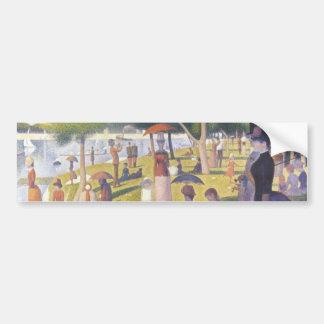 A Sunday Afternoon on La Grande Jatte Bumper Stickers