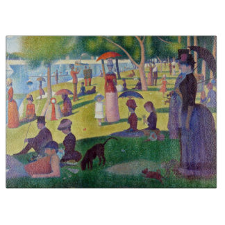 A Sunday Afternoon on La Grande Jatte by Seurat Cutting Board