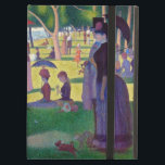 """A Sunday Afternoon on La Grande Jatte by Seurat iPad Air Case<br><div class=""""desc"""">A Sunday Afternoon on La Grande Jatte by Georges Seurat.  Please visit my store for more interesting design and more color choice =&gt;  zazzle.com/colorfulworld*</div>"""