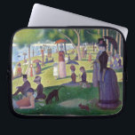 """A Sunday Afternoon on La Grande Jatte by Seurat Laptop Sleeve<br><div class=""""desc"""">A Sunday Afternoon on La Grande Jatte by Georges Seurat. Please visit my store for more interesting design and more color choice. =&gt;     zazzle.com/colorfulworld*</div>"""