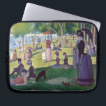 "A Sunday Afternoon on La Grande Jatte by Seurat Laptop Sleeve<br><div class=""desc"">A Sunday Afternoon on La Grande Jatte by Georges Seurat. Please visit my store for more interesting design and more color choice. =&gt;     zazzle.com/colorfulworld*</div>"
