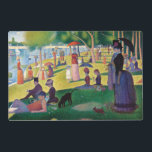 "A Sunday Afternoon on La Grande Jatte by Seurat Placemat<br><div class=""desc"">A Sunday Afternoon on La Grande Jatte by Georges Seurat. Please visit my store for more interesting design and more color choice. =&gt;     zazzle.com/colorfulworld*</div>"