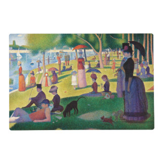 A Sunday Afternoon on La Grande Jatte by Seurat Placemat