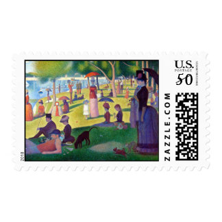 A Sunday Afternoon on La Grande Jatte by Seurat Postage