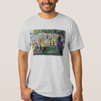 A Sunday Afternoon on La Grande Jatte by Seurat T Shirt