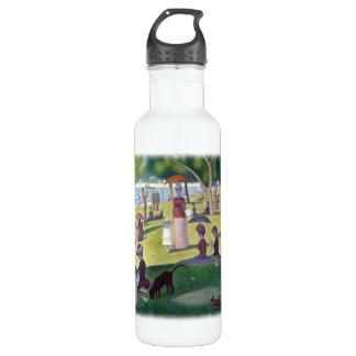 A Sunday Afternoon on La Grande Jatte by Seurat Water Bottle