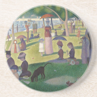A Sunday Afternoon on the Grande Jatte Beverage Coasters