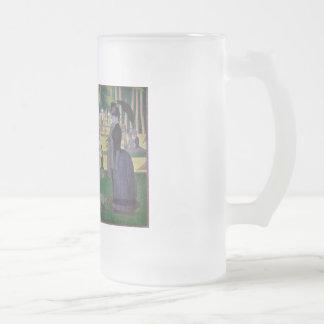A Sunday Afternoon on the Island of La Grande Jatt 16 Oz Frosted Glass Beer Mug