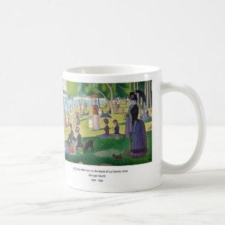 A Sunday ON La Grande Jatte and Georges Seurat, 18 Coffee Mug