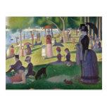 A Sunday on La Grande Jatte by Seurat Postcards
