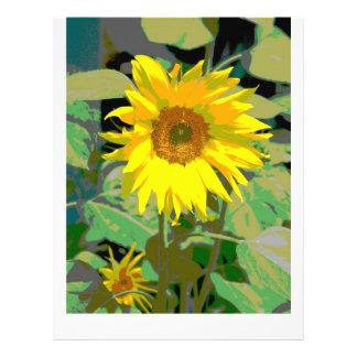 A sunflower flyers