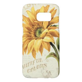 A Sunflower in Full Bloom Samsung Galaxy S7 Case