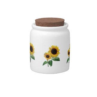 A Sunflower Mommy's Love Candy Jar