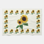 A Sunflower Mommy's Love Hand Towel