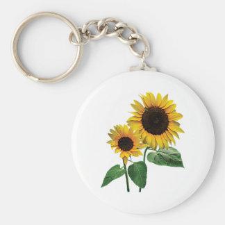 A Sunflower Mommy's Love Keychain