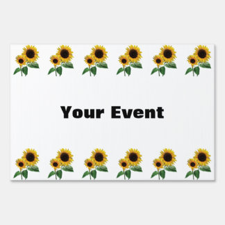 A Sunflower Mommy's Love Lawn Sign