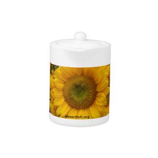 A Sunflower Teapot