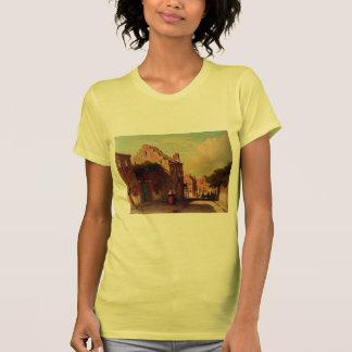 A Sunlit Townview by Johan Hendrik Weissenbruch Tee Shirt