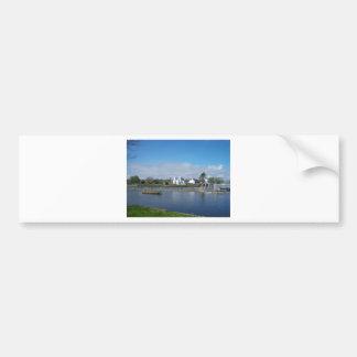 A sunny day bumper sticker
