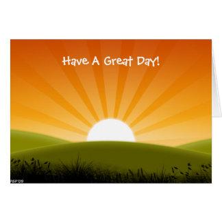 A Sunny Day Card