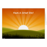A Sunny Day Cards