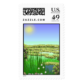 A Sunny Day Postage