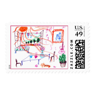 A Sunny Day Stamp