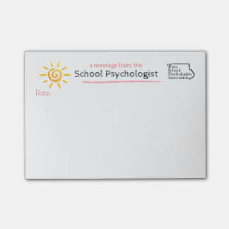 A Sunny Note From the Iowa School Psychologist