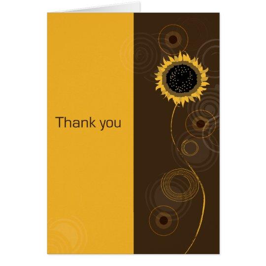 A Sunny Thank You Card