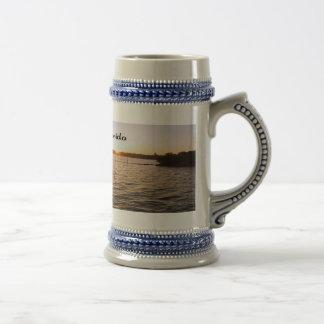 A sunrise over the Manatee River Coffee Mugs
