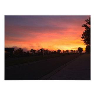 A Sunrise Photo Print