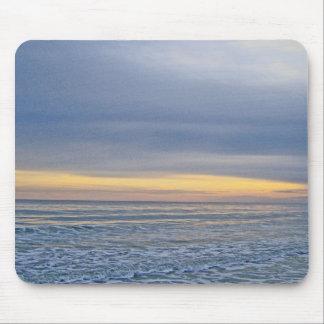 A Sunset Along The Coast Mouse Pad
