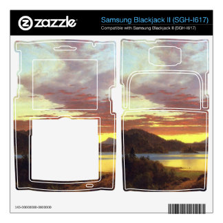 A Sunset by Frederic Edwin Church Samsung Blackjack II Skin