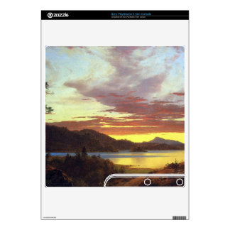 A Sunset by Frederic Edwin Church Decal For The PS3 Slim