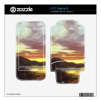 A Sunset by Frederic Edwin Church Skin For HTC Desire S