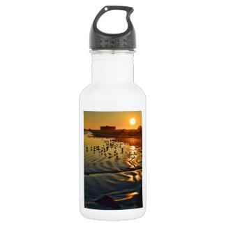 A Sunset in Port Aransas, Texas Water Bottle